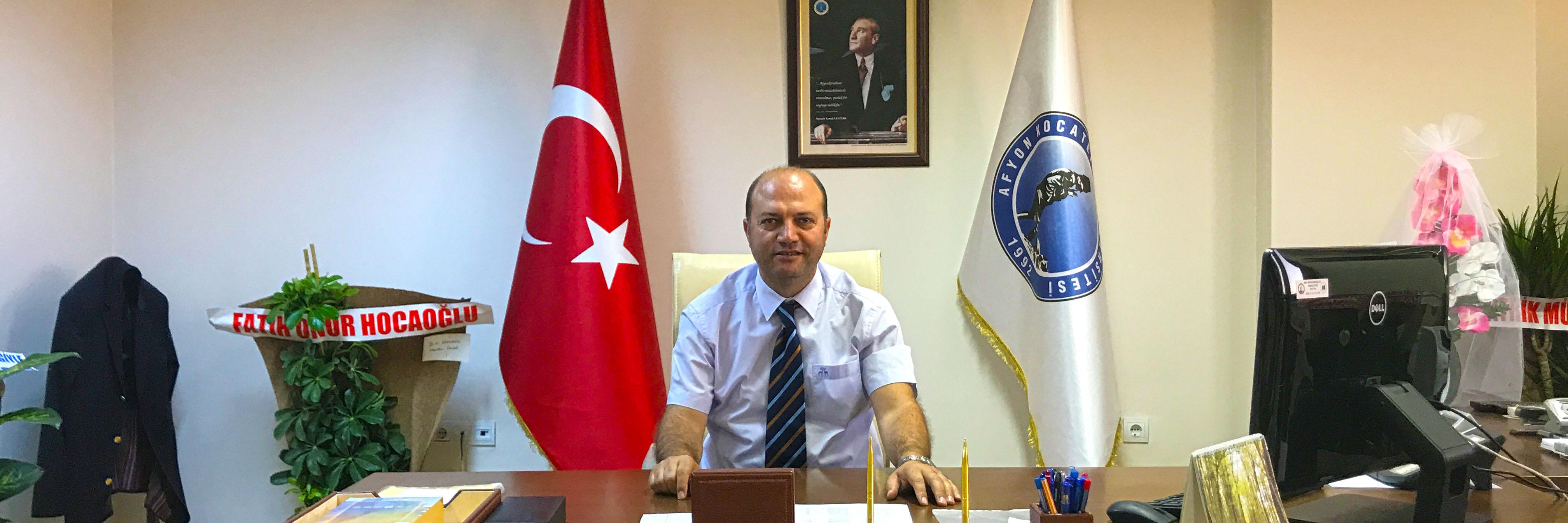 Prof.Dr. Ahmet YILDIZ Mühendislik Fakültesi'ne Dekan Olarak Atandı