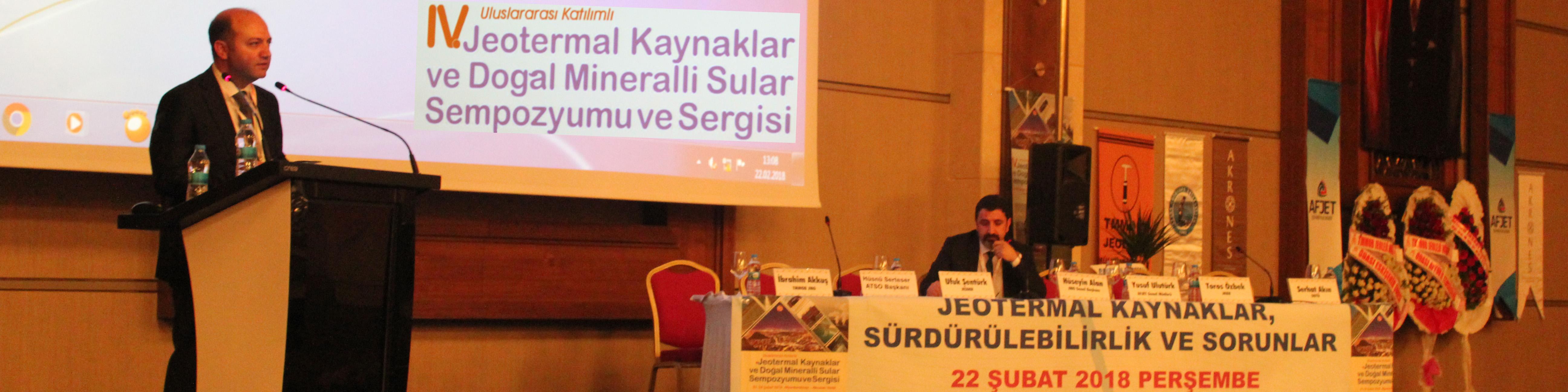 Jeotermal Sempozyumu Gerçekleştirildi