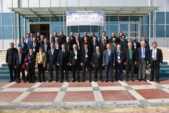 Jeotermal Enerji Teknolojileri Çalıştayı Düzenlendi